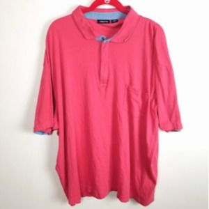 CLAIBORNE Big and Tall Men Polo Size 3XLT